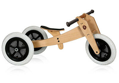 NEW Wishbone 3 in 1 Bike - Sustainable Eco-Friendly Wooden Kids Toys
