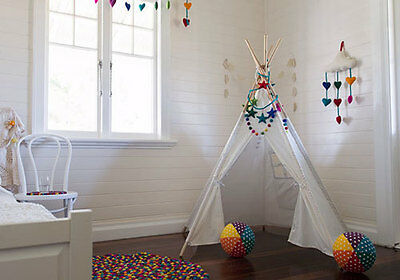 NEW Children's Play Teepee - Sustainable Eco-Friendly Wooden Kids Toys