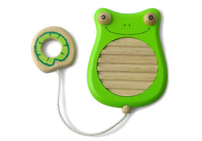 NEW Scratchy Frog Musical Toy - Sustainable Eco-Friendly Wooden Kids Toys