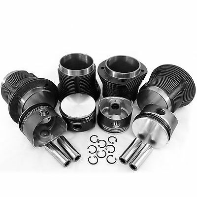 VW Bug 92mm Type 1 Piston and Cylinder Kit New 1835 For Stock Stroke