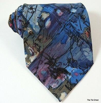 Abstract Tie Vogue Funky Necktie Made in Canada