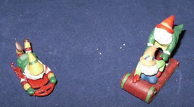 """Dept. 56 Heritage Village Collection, """"Testing the Toys"""" Set of 2"""