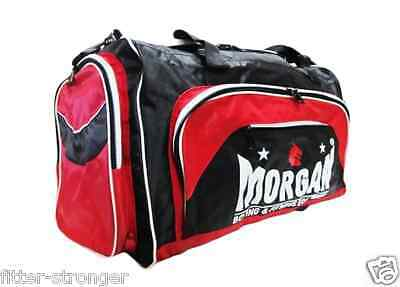 Morgan Red Gym Gear bag Crossfit gloves equipment kit carry yoga sport Platinum
