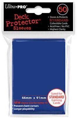 600 Ultra Pro Deck Protector Card Sleeves Blue Standard Magic Pokemon
