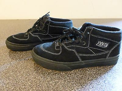 62f5116da7 Vans Half Cab Black Kids US size 3 EURO TB5B 4501106161 Excellent Condition