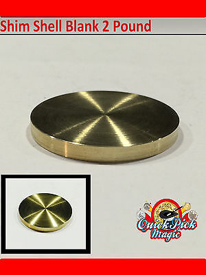 Blank 2 Pound Coin - Close Up Magic Trick