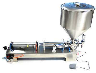 New 110V Pneumatic Liquid Filling Machine 80-1000ml One Nozzle Free Shipping