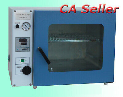 0.9 Cu Ft Digital Vacuum Drying Oven 110V Free Shipping CA Seller