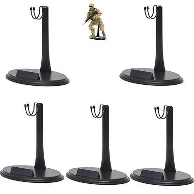 2Pcs 1//6 Scale Action Figure Mount Display Stand Base Holder C-Type For Dolls