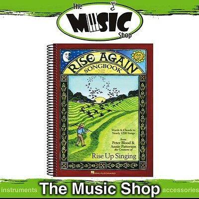 New 'Rise Again Songbook' Vocal Music Book - Includes 1200 Songs!