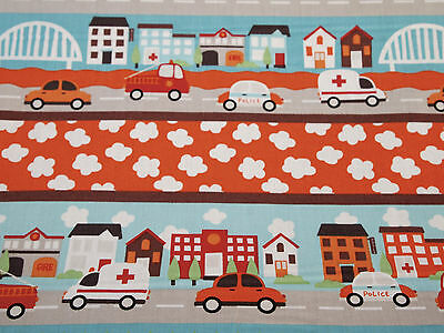 """Going Places Fabric Vehicle Sign Patches Cotton Fabric .80 Yd L x 45/""""W"""