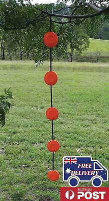 GlowShot Clay Pigeon Double Target Hangers, use Clays as rifle or pistol targets