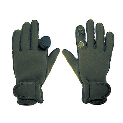 Percussion CAMO Neoprene Shooting Gloves Hunting Shooting Wildfowling Gloves