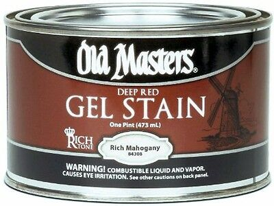 Old Masters Gel Stain - Various Colors Pint Size