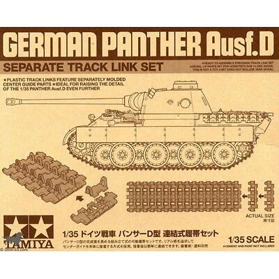 Chenille injectées Panther AUSF.D - TAMIYA