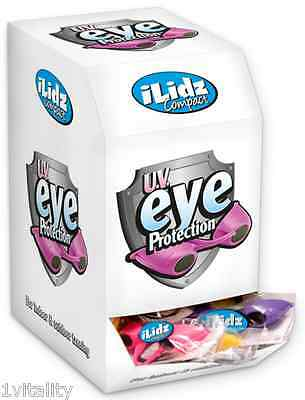 Power Tan iLidz Tanning Goggles Box Of 60 Pairs Sunbed Eye protection UVA & UVB