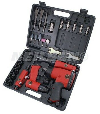 33 Piece Air Tool Kit - 33pc 1/2 inch Drive