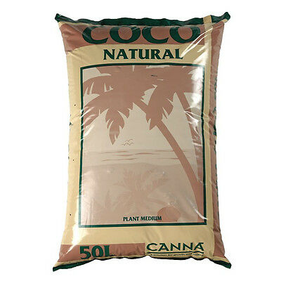 Canna Coco Natural Coir Hydroponic Growing Media Soil 50L