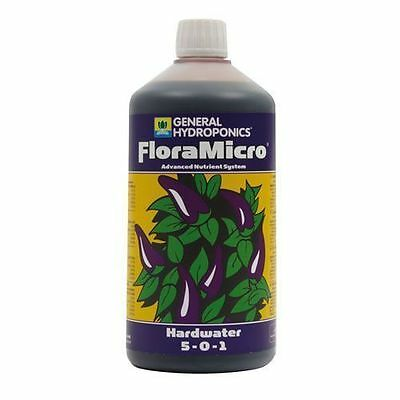 General Hydroponics GHE Flora Micro Hardwater 1L FloraMicro