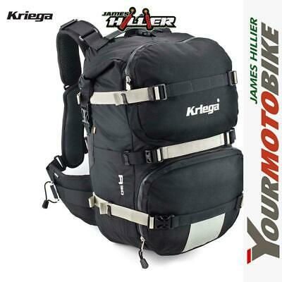 Kriega R30 Motorcycle Backpack 30 Litre Rucksack Hydration Pack touring Kreiga