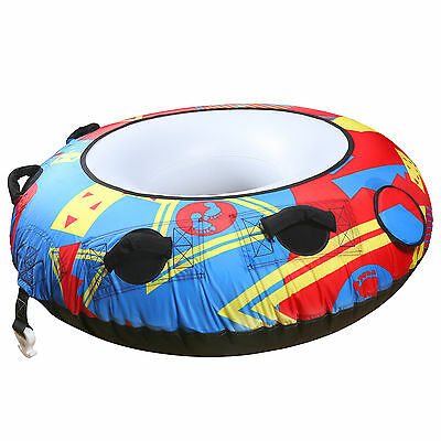 TBF Wave Crusher Mono 1P Single Rider Unisex Towable Ring Donut Ringo Water Tube
