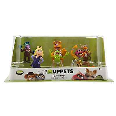 DISNEY MUPPETS FIGUREN Play SPIEL SET Kermit Fozzie Bär MISS PIGGY Animal Gonzo