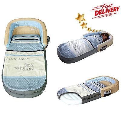 Inflatable Mattress Ready Bed 2 in 1 Airbed and Sleeping Bag Sleepytime Kids