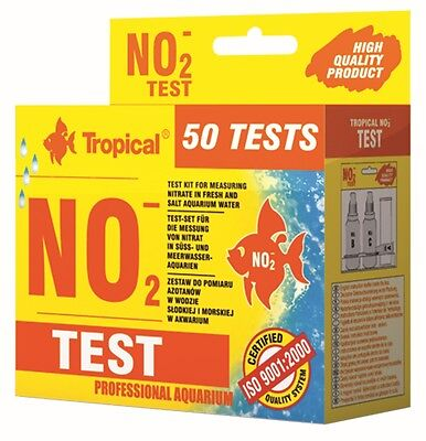 Aquarium Tropical Fish Tank Test Fresh & Salt Marine Water No2, No3, Gh, Kh, Ph