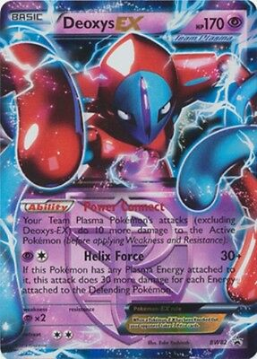Deoxys EX BW82 PROMO HOLO PERFECT MINT! Pokemon
