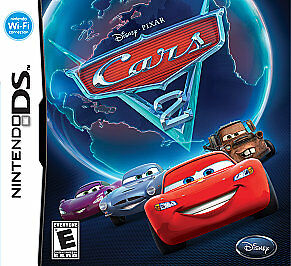 Cars 2: The Video Game -- Nintendo DS Game -- BRAND NEW & SEALED