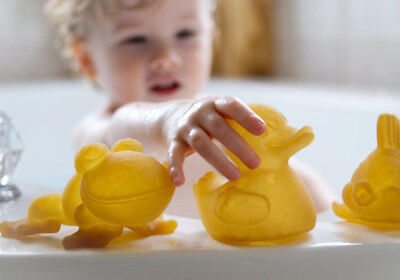 NEW Hevea Pond Rubber Bath Toys - Sustainable Eco-Friendly Wooden Kids Toys