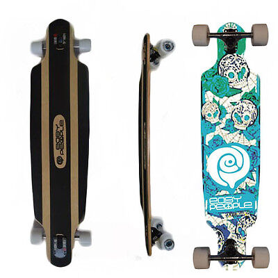 Easy People Drop-0S Natural Drop-Through Longboard Complete Truck Wheels Day
