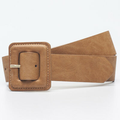 Mooloola Square Up Belt in Brown