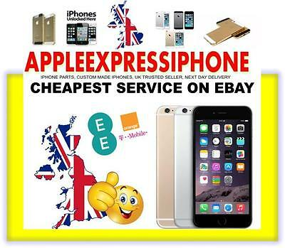 ORANGE / EE / T-MOBILE UK IPHONE 5c 5S 6+ OFFICIAL FACTORY UNLOCKING