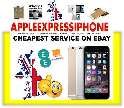 ORANGE / EE / T-MOBILE UK IPHONE 4 4s 5 5S 6 6+ OFFICIAL FACTORY UNLOCK OFFER