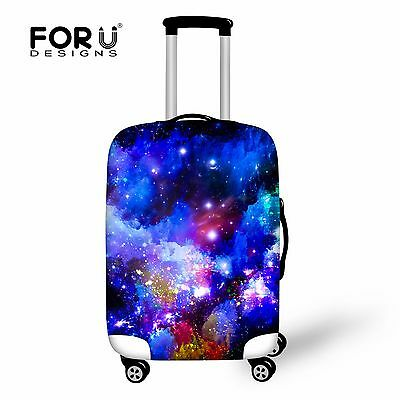 """Galaxy Space Dust-proof Travel Spandex Luggage Cover Suitcase Protector 18""""-28"""""""