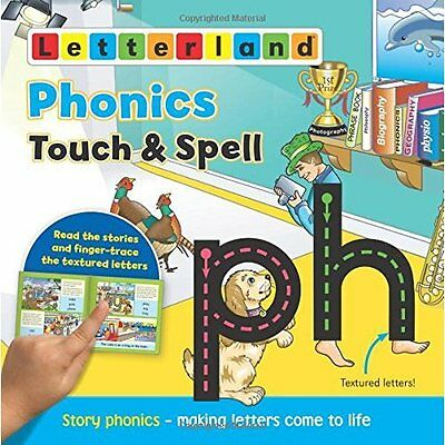 Phonics Touch Spell Holt Wendon Letterland International Paperbac. 9781782480907
