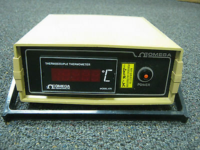 Omega Engineering Thermocouple Thermometer Model 670 - K - DS