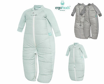ergoPouch Sleep Suit Bag - 3.5tog Baby Sleeping Bag Winter Warm Organic Cotton