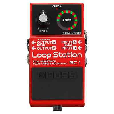 BOSS RC-1 Loop Station Compact Guitar Effects Pedal 5-Year Warranty