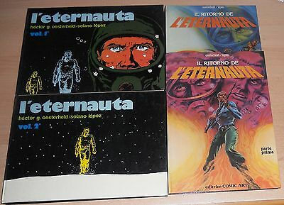 Ed.comic Art  Volumi Cartonati  Serie  L'eternauta   N°  1/4  Cpl  1979  !!!!!