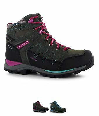OCCASIONE Karrimor Hot Rock Mid Bambino Scarpe walking Grey/Purple