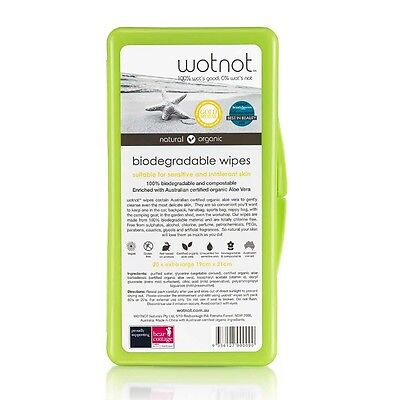 WOTNOT Travel Wipes x20 Travel Case | BRAND NEW