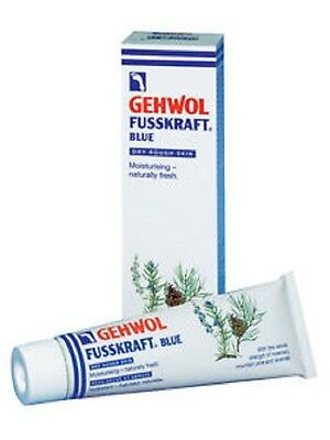 Gehwol Fusskraft Blue Foot Cream 125ml - Athlete's Foot, Tired Feet, Aching Feet