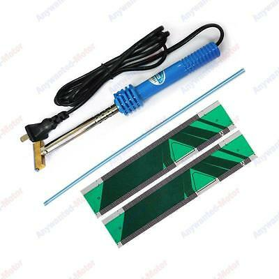 Green Pixel Repair Ribbon Cable for SAAB 9-3 9-5 SID2 Display & Soldering T-Iron