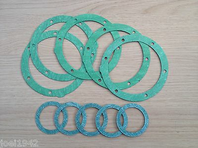 Mag Flange Gasket Set. 5 Pack. All Models.new & Improved For Lambretta Gp-Li-Sx