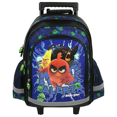 Angry Birds Sac A Roulette Trolley Sac A Dos Cartable Ecole