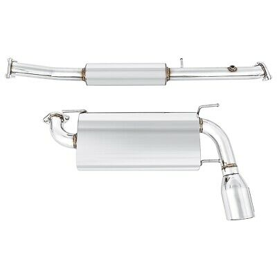Mazda Mx5 Mk1 Exhaust System Cobalt Single Exit Stainless Steel 1989-97 NEW