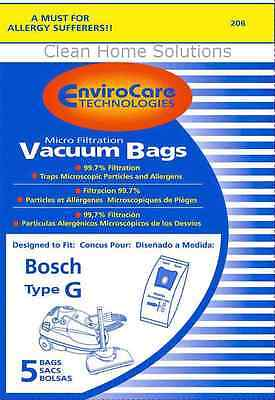 Bosch Type G Allergy Vacuum Cleaner Bags #BBZ51AFG2U