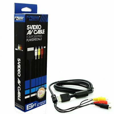 New S-Video A/V Cable for Sony PlayStation Systems PS1 PS2 PS3 NEW